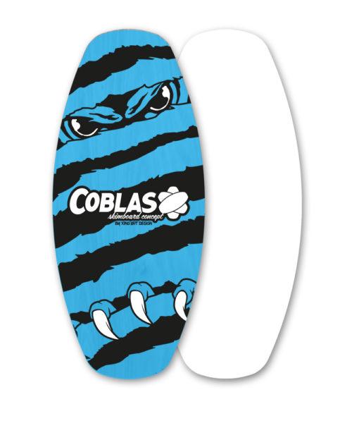 skimboard flat Soap-Blue/Black