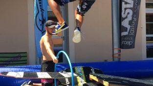 Zayone Frau Team rider Coblas skimboard Circus Tricks