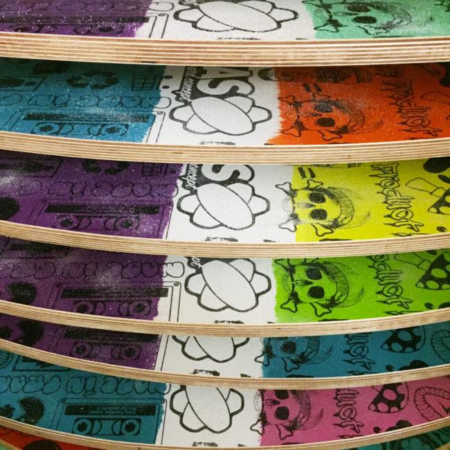 planches d'équilibre coloris