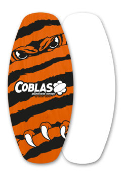 skimboard flat Soap-Orange/Black