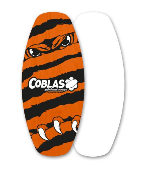 skimboard flat Soap-Orange/Black