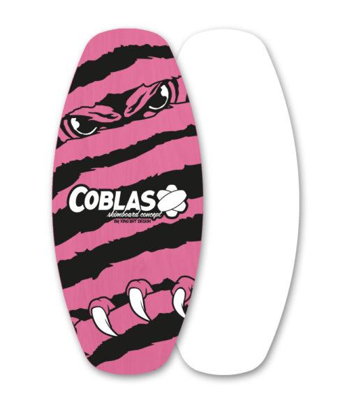 skimboard flat Soap-Pink/Black