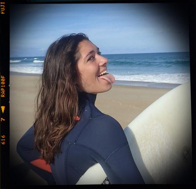 Camille Martres - Team Rider COBLAS Skimboard